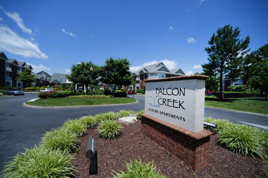 Falcon Creek Entrance Sign